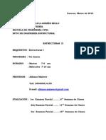 UCAB- Programa Estructuras II
