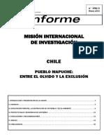 Pueblo Mapuche Entre El Olvido y La Exclusion