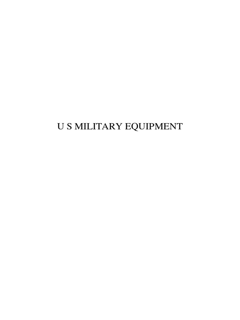 U s military equipment military technology military altavistaventures Image collections