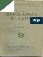 Signal Corps Bulletin Verne Kőnyv Retjeleinek Megfejtése