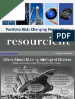 Rethinking Portfolio Risk