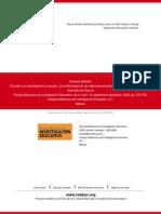 Batallan (2003) El Poder y La Autoridad en La Escuela La Conflictividad de Las Relaciones Escolares Desde La Perspectiva de Los Docentes de Infancia