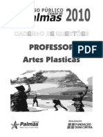 Professor Artes Plásticas