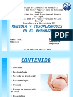 Rubeola y Toxoplasmosis (1)