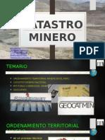 Catastro Minero 1