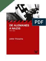 Fritzsche Peter, De Alemanes a Nazis