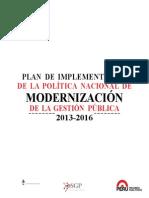 Plan de Implementacion