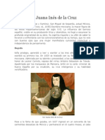 Biografia Sor Juana