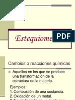 Cap. 4 Estequiometría (1)