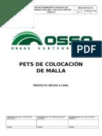PETS - 206 Colocacion de Malla Electrosoldada