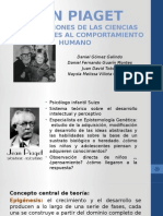 Jean Piaget psicodesarrollo