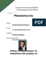 Schopenhauer y La Religión