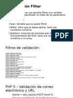 La Extensión Filter