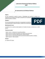 Taller de política pública, Dr. Guillermo Cejudo