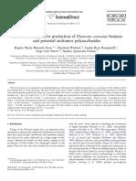 Alternative Medium for Production of Pleurotus Ostreatus Biomass