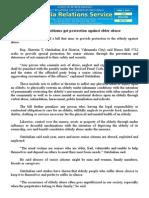 june07.2015Senior citizens get protection against elder abuse
