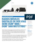 DGM8500 Spanish
