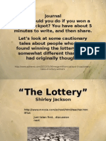 Short Story the Lottery