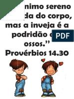 Provérbios 14.30 - visual