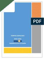Manual Tempos Especiais 2015-2016 - Manual Formando Revisado