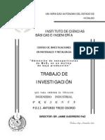 Obtencion de Nanoparticulas Baja Produccion