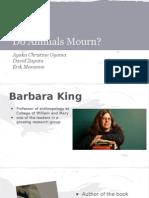 animal mind mourning presentation