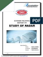 Rahul Summer Training Report