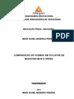 TCC - COMPARAÇÃO VO2MAX