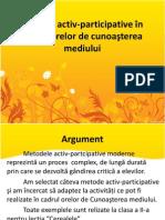 Metode Active Potrivite Pentru Clasă grupă, Utilizate La Clasăgrupă Şi Temele Abordate Prin Aceste Metode