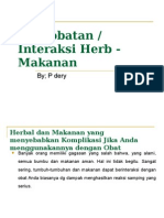 Kuliah 6,Medicine - Herb food interaction.ppt