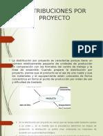 Distribuciones Por Proyecto