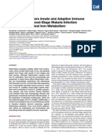 Lipocalin 2 Bolsters Innate and Adaptive Immune Responses to Blood-Stage Malaria Infection by Reinforcing Host Iron Metabolism