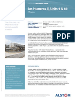 Los Humeros II Mexico Geothermal Power Plant Datasheet
