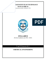 Syllabus Year 2014-15 Chemical Engineering 5and6 Semester