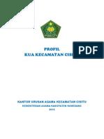 PROFIL KANTOR URUSAN AGAMA                                                                                                                    KECAMATAN CISITU KABUPATEN SUMEDANG.pdf
