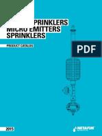 Sprinklers Cataloge 2015