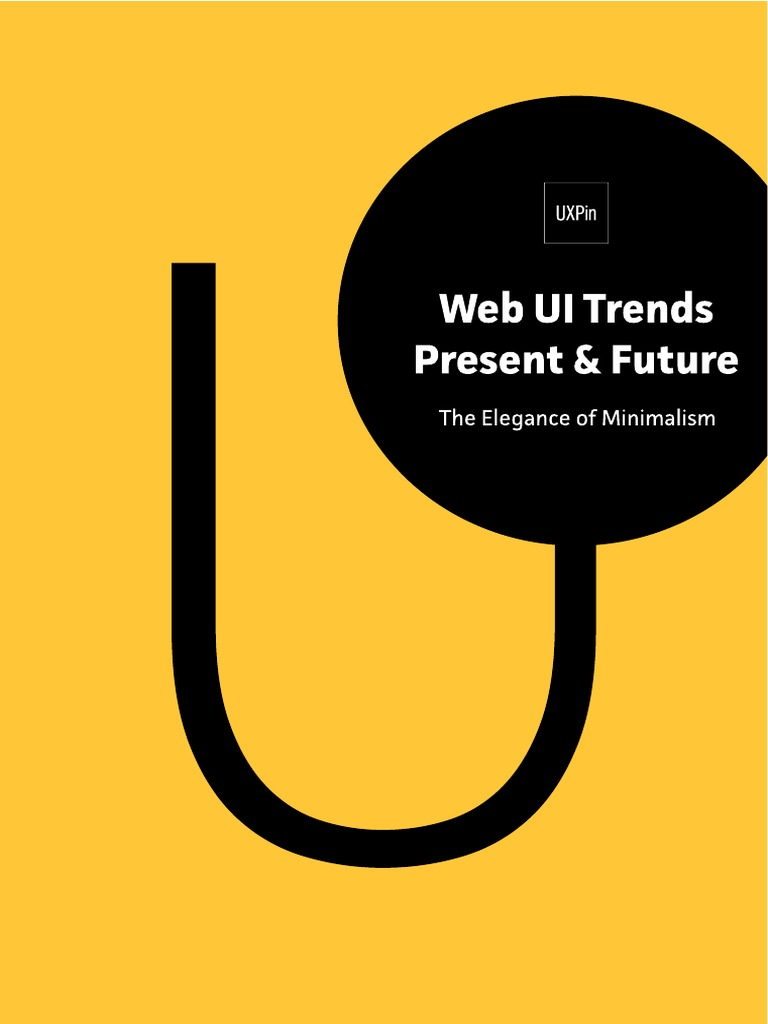 Web UI Trends The Elegance of Minimalism   PDF   Minimalism ...