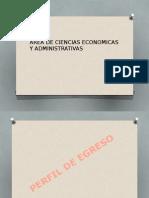 Areas Economico Administrativas