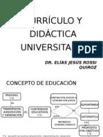 Curriculoydidacticauniversitaria Diapositivas Blancoynegro 110815150608 Phpapp01