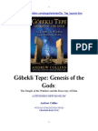 Göbekli Tepe, Génesis of the Gods. Sp. Ed