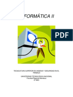 Informática II 2015