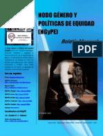 Boletín N° 14 Nodo Género y Políticas de Equidad