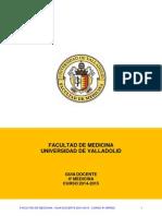 Medicina - Guia 4 2014-2015(guia)