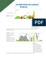 Proceso de Fabricacion Del Cemento Progreso, yeso y cal
