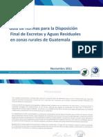 Guía de Disposicion de Excretas Aguas Residuales FIN