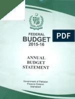 Federal Budget 2015-16