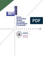 Guia clinica cancer de Ovario Oncoguia2008