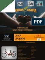 CATALOGO BICICLETAS ELECTRICAS