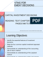capital decision