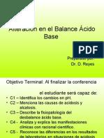 Clase 6 A Alteración en el Balance Ácido Base